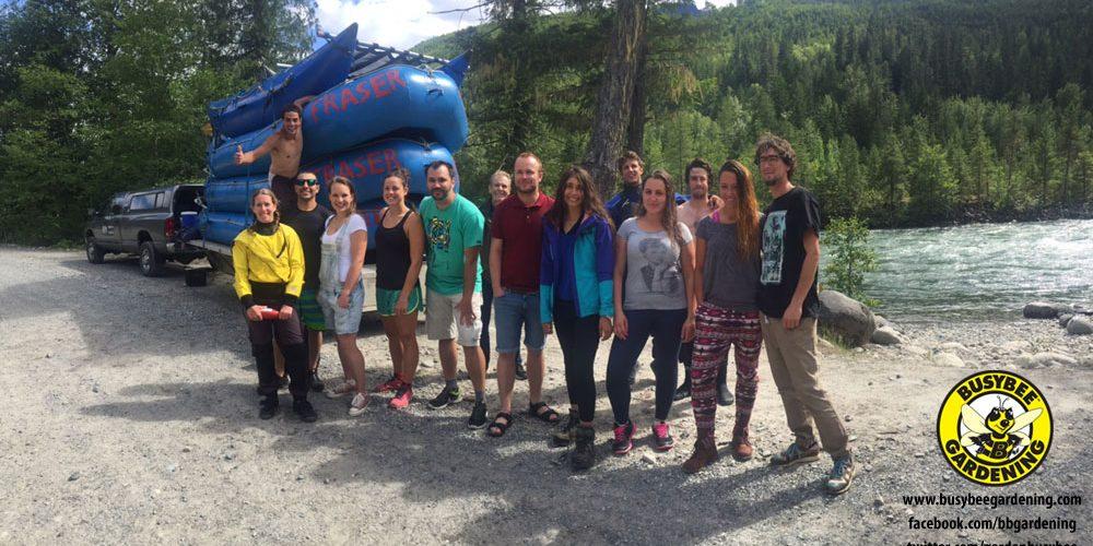 Busybee Gardening - Rafting Trip