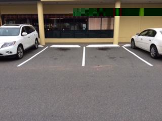 Parkade Line Painting